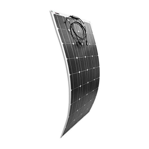 Litionite Carve 100W Panel solar flexible ultra delgado con tecnología ETFE para instalación...