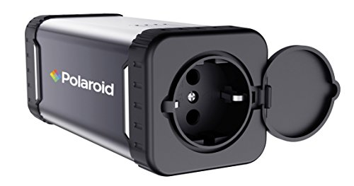 Polaroid PS100 - Cargador portátil de CA/CC, Almacenamiento de energía 84WH, 220V CA, Potencia...