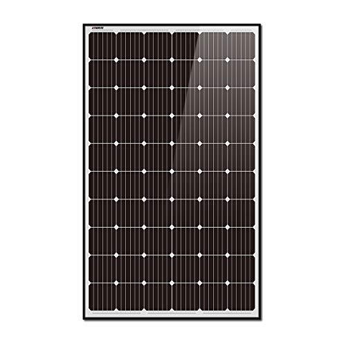 Litionite Rayo 660W - 2x Panel solar de 330W monocristalino en vidrio templado con estructura de...