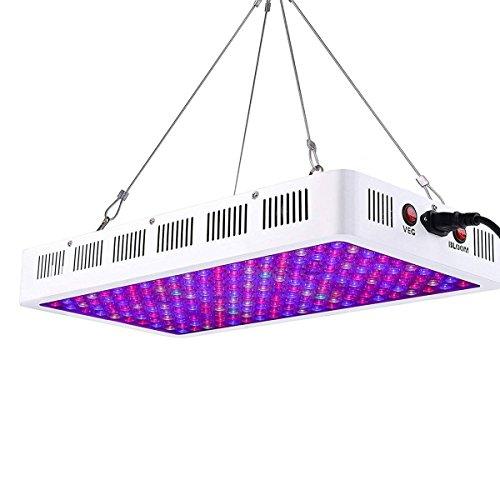 Niello Lámpara de Cultivo de Plantas 1000w, luz de Crecimiento LED de la Serie de Lentes ópticas,...