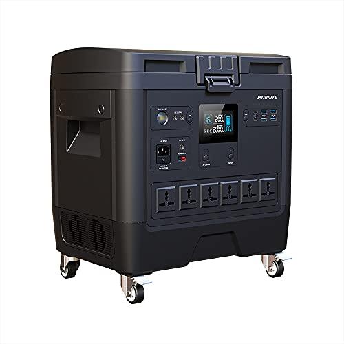 Litionite Cargo 2000W / 2kWh Generador de energía portátil con batería Interna Intercambiable -...