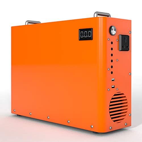 ECO-WORTHY Generador de Energía Portátil 750Wh Batería LiFePO4 Incorporada con Carga DC-12V...