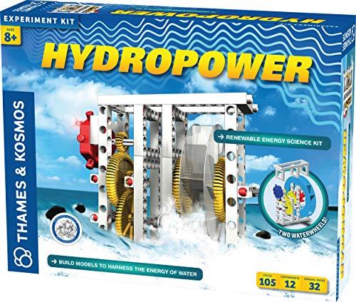 Thames & Kosmos - 624811 Hidropower - Juego de ciencia renovable, construye modelos para aprovechar...